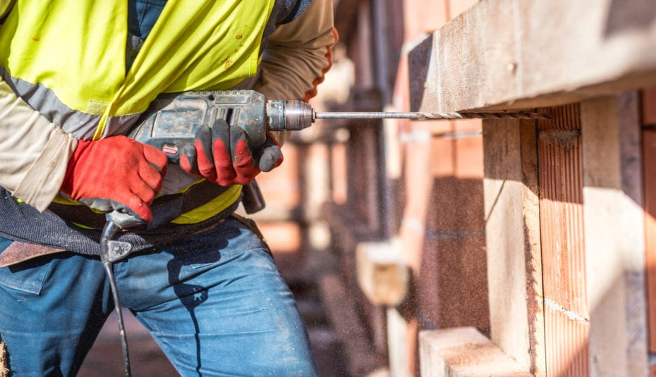 Powerdrill on Construction
